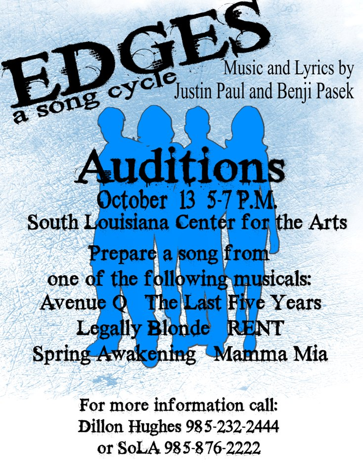 Open Auditions – SoLa Center for the Arts